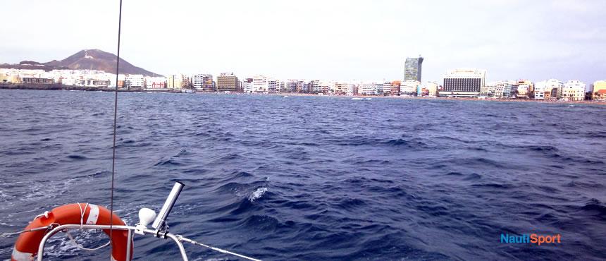 Excursión navegación rumbo a la Playa de Las Canteras