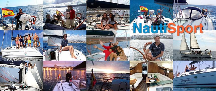 Excursiones marítimas en Velero por Gran Canaria NAUTISPORT