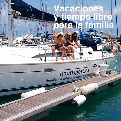 Rutas excursiones maritimas en velero NAUTISPORT