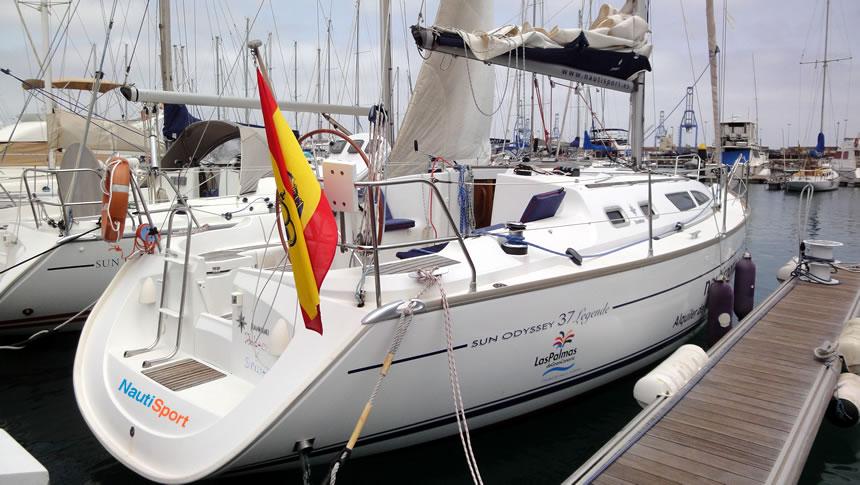 Velero JEANNEAU en Gran Canaria NAUTISPORT